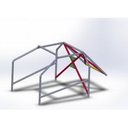 Arco 6 Puntos COMPETICIÓN con doble X con cartelas