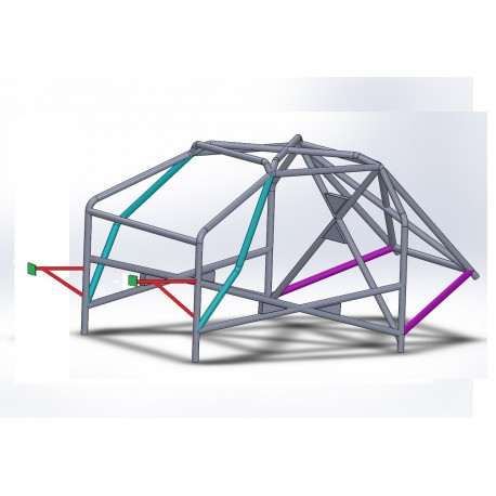 Arco 8 Puntos COMPETICIÓN Completo