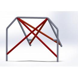 Arco 4 Puntos CALLE con doble X
