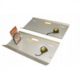 KIT de 2 placas de alineado