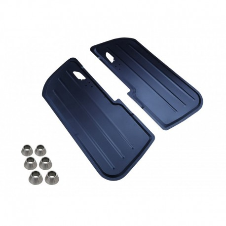 Kit 4 Paneles Aluminio BMW e46 coupe