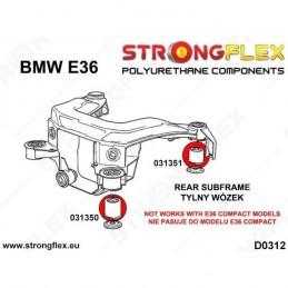 Kit BMW e36 Strongflex Subchasis Trasero