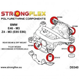 Kit BMW e46 M3 Strongflex Completo
