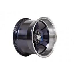 """Llanta 59°North Wheels D-004 11x18"""" ET15 5x114/5x120 Blurple/polished lip"""