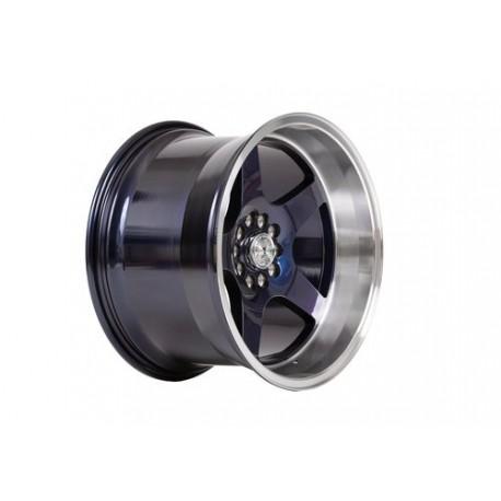 """59°North Wheels D-004 11x18"""" ET15 5x114/5x120 Blurple/polished lip"""