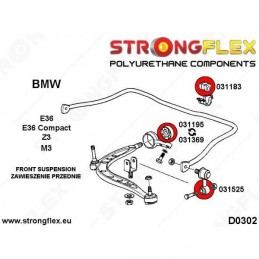 Kit STRONGFLEX BMW e36 COMPACT