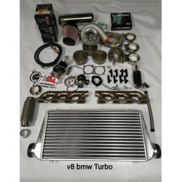 Kit Turbo BMW e30 V8 m60 y m62