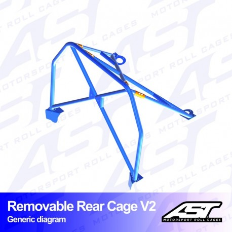 Rear cage V2 Removable