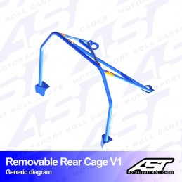 Rear cage V1 Removable