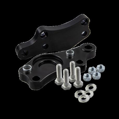 Turn angle adapters Lexus IS 200 IS 300 / Toyota Altezza/ Toyota Altezza Gita +30% (Lock Kit / Steering Lock Adapters) / Black