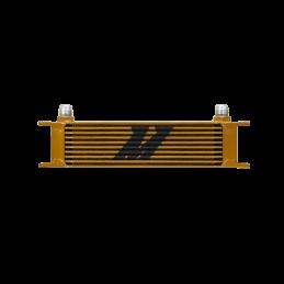 Radiador Mishimoto Aceite 10 filas Oro