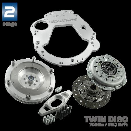 Adaptador de Caja para motor M50, M52 Stage 2