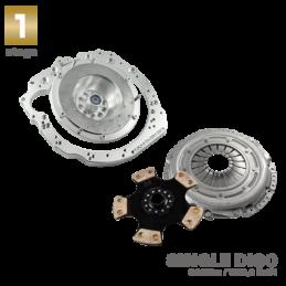 Adaptador de Caja kit completo para motor VOLVO T5 y T6