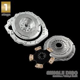 Adaptador de Caja HGU HGK e90 kit completo para motor VOLVO T5 y T6