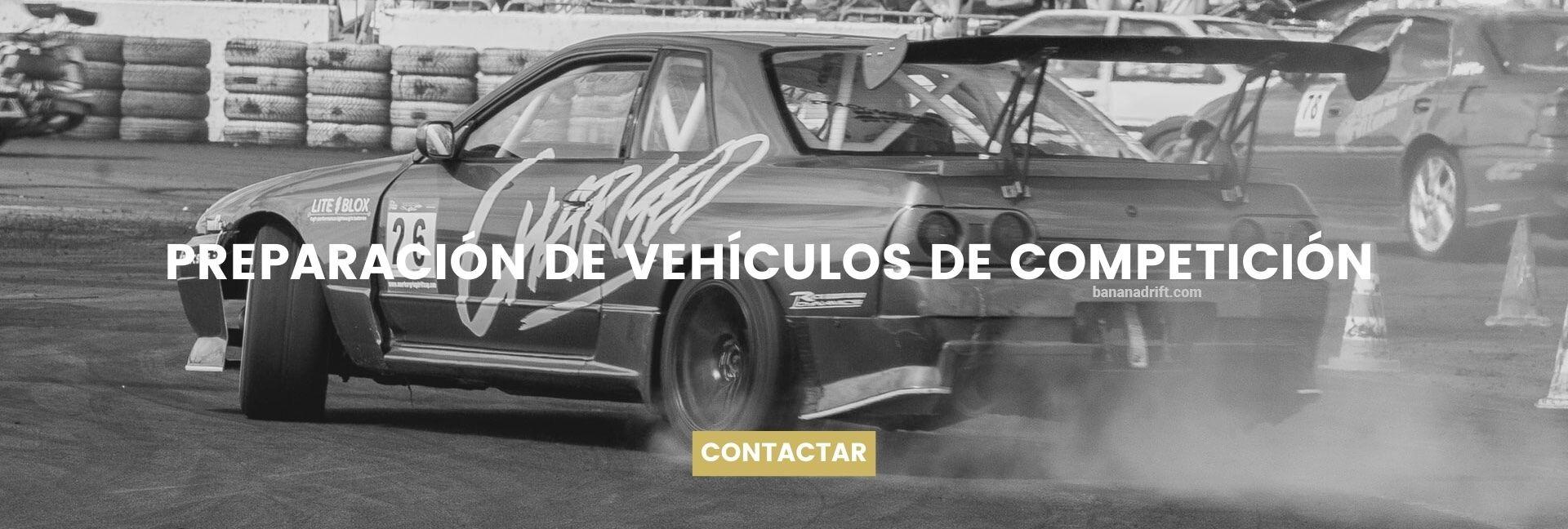 preparación de vehículos de competición